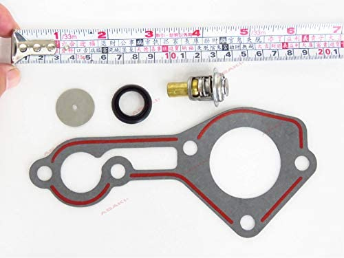 OEM Mercury Quicksilver 2 cycle 70-125hp 1987 /& Later Thermostat Kit 803061T1
