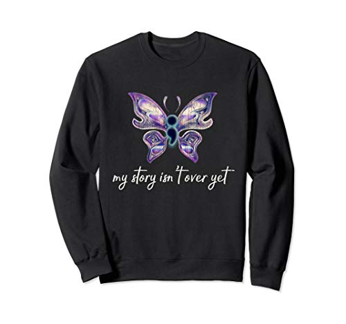 Semicolon Project Sweatshirt Depression Awareness ()