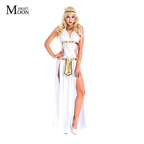 Topry (TM) Halloween Venus Goddess Costume The Greek God Of Love Costime, Egypt Performance Costume (Venus God Of Love)