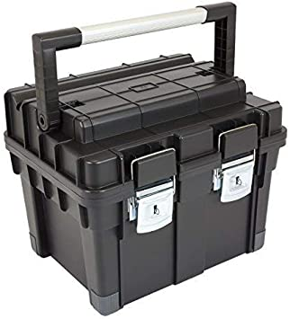 Patrol Group HD Compact 1 caja de herramientas (Mango de aluminio, Negro, SKRC1HDCZAPG001: Amazon.es: Bricolaje y herramientas