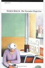 The November Propertius Paperback