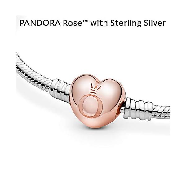 Pandora – Pulsera de corazón brillante Pandora – Pulsera de corazón brillante Pandora – Pulsera de corazón brillante