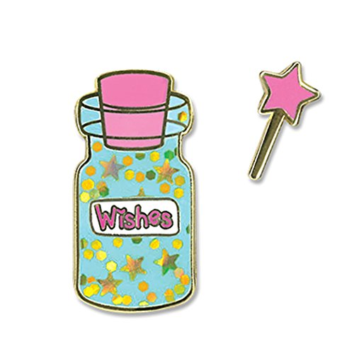 Price comparison product image CHARM IT! Wishes Bottle Enamel Flair 2 Pin Set