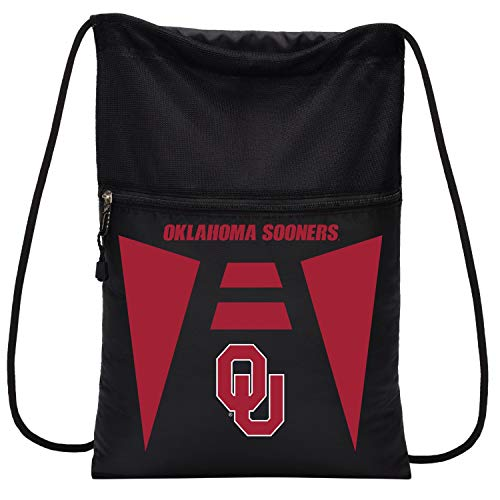 Officially Licensed NCAA Oklahoma Sooners Team Tech Backpack Backsack, One Size