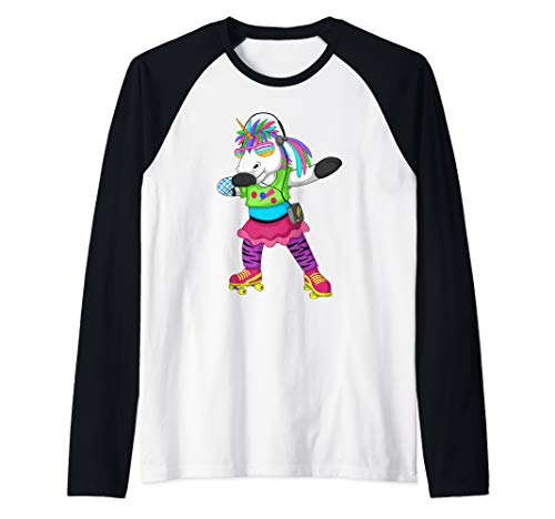 C Themed Party Costume Ideas (80s 90s Dabbing Unicorn Costume Outfit for 80s Retro Party Raglan Baseball)