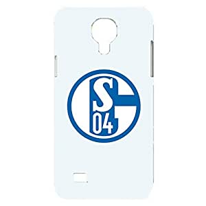 FC Schalke 04 Phone Case Contracted Bundesliga Team Logo Print 3D Hard Plastic Mobile Phone Case for Samsung Galaxy S4 Mini
