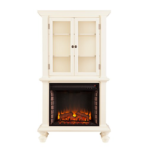 Townsend Electric Fireplace Curio Antique product image