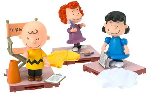 A Charlie Brown Christmas: Indoor Charlie, Frieda and Lucy Action Figures