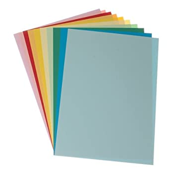 Coloured Card A4 Asst - 10 Pk: Amazon.co.uk: Office Products