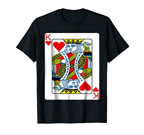 King of hearts playing card Valentine's Day