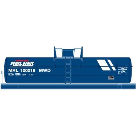 HO Montana Rail Link Chemical Tank Car 100016 #72919 ()