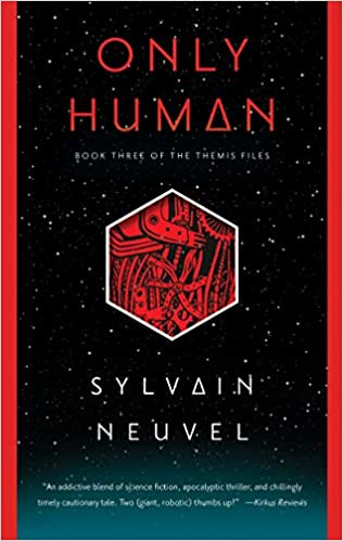 Only Human. The Themis Files #3 book cover