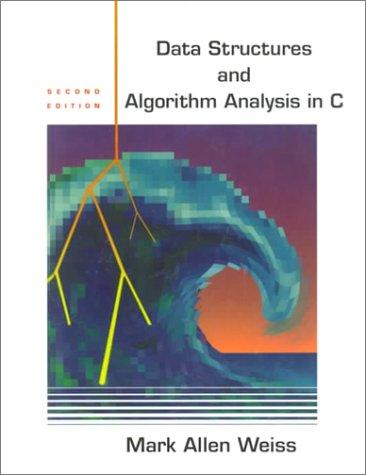 Data Structures and Algorithm Analysis in C: United States Edition: Amazon.es: Mark Allen Weiss: Libros en idiomas extranjeros