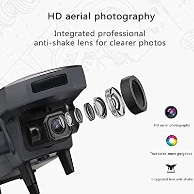 HNSYDS Drone Foldable, 1080P HD, Outdoor HD Aerial Photography, Remote Control Outdoor 4-axis Aircraft Aircraft