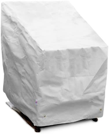 DuPont Tyvek 24222 High Back White Chair Cover, 32-Inch W by 37-Inch D by 39-Inch H