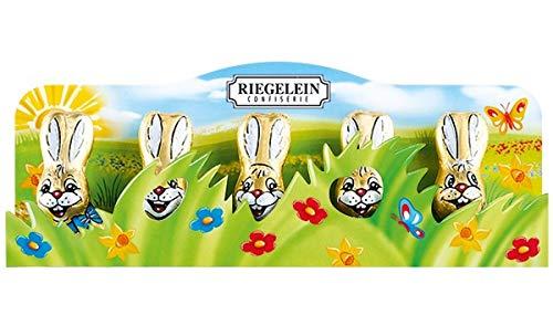 Riegelein Milk Chocolate Easter Bunnies in grass 2.1-ounce