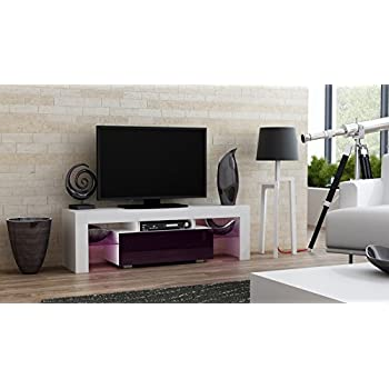 tv stand milano 130 modern led tv cabinet living room furniture tv console