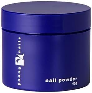 Young Nails False Nail Powder, Speed Natural, 45 Gram