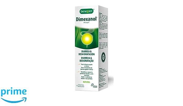 Benegast Dimexanol Tratamiento Diarreico 10 comprimidos efervescentes: Amazon.es: Salud y cuidado personal