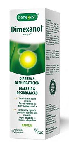 Benegast Dimexanol Tratamiento Diarreico 10 comprimidos efervescentes