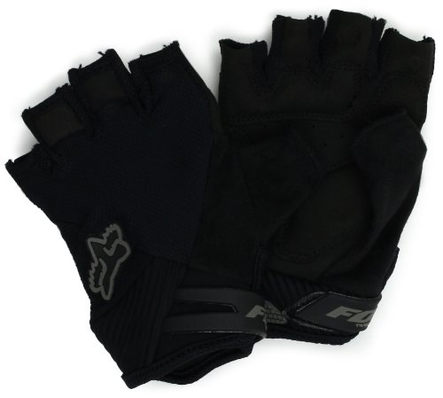 - Fox Head Men's Reflex Gel Short Glove, Black, Small