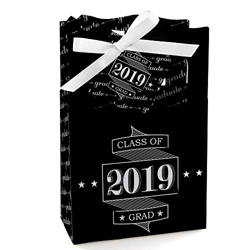 Graduation Cheers - 2019 Graduation Party Favor Boxes - Set of 12 -
