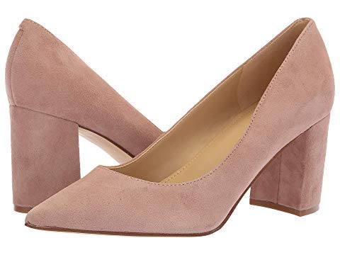 Marc Fisher Women's Claire Blush New Silky Suede 10 M US from Marc Fisher