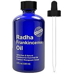 Frankincense Essential Oil - Big 4 oz - 100% Pure & Natural Therapeutic Grade - Premium Quality Oil