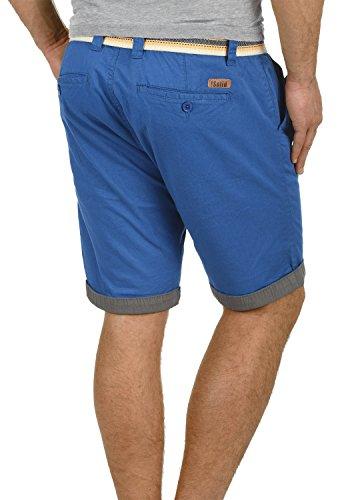 Bermuda Elástico Limoges Lagos Con Regular Tela De Para Pantalón Hombre 1839 Cinturón solid Pantalones Chino fit Corto gIdxv7vZn