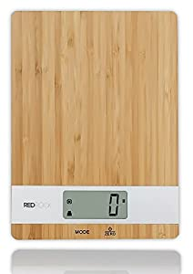 bamboo digital kitchen food scale 2014 new product 11lb capacity eco friendly platform - New Product 2014