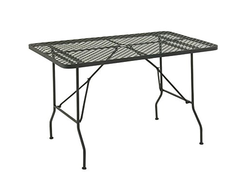 Deco 79 29045 Metal Fold Outdoor Table, 48