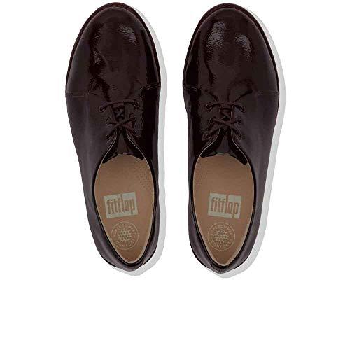 Derby Gymnastique 620 Berry Femme Violet de Patent FitFlop Crinkle Chaussures dPRxXd6q