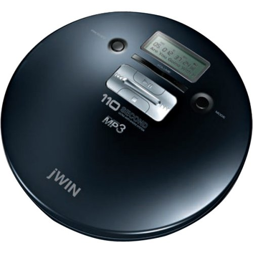 Personal MP3/CD Player with 110-SECOND Asp