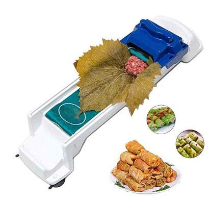 Alliebe Sushi Mold Vegetable Meat Rolling Tool Sushi Roller Dolma Sarma Roller Magic Sushi Roller Stuffed Grape Cabbage Leave Grape Leaf Machine