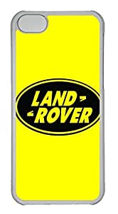 iPhone 5C Case, iPhone 5C Cases - Anti-Scratch Crystal Clear Back Bumper for iPhone 5C Land Rover Car Logo 1 Shock-Absorption Hard Case for iPhone 5C by runtopwell