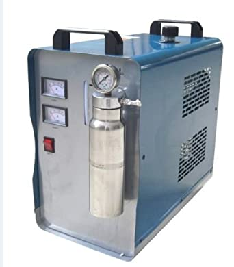Canty Wang® Nueva oxy-hydrogen Generador de Agua Soldador acrílico Llama Pulido linterna Soldador