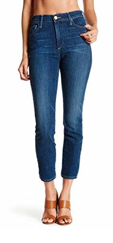 True Religion Cora High Rise Cropped Straight Leg Jean, 24, CUMD WORN VINTAGE (Jeans True Religion Cropped)