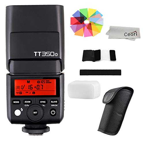 Godox TT350O Mini TTL Flash Speedlite 2.4G Wireless GN36 1/8000s HSS for Olympus E-P5 E-PL5 E-PL6 E-PL7 E-PL8 Pen-F DSLR Camera