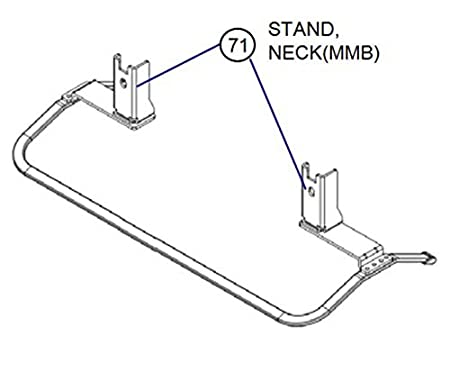 2x New Genuine Sony Tv Stand Neck Necks 4 Screws For Amazon Co Uk