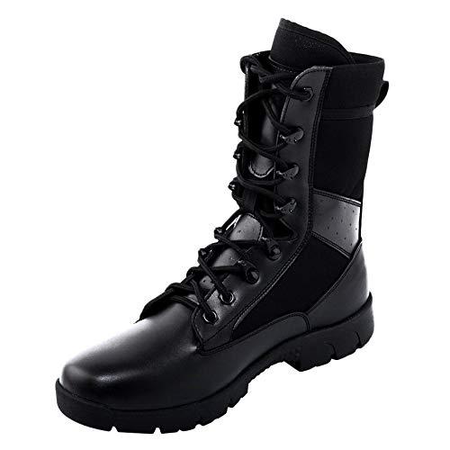 Speciali Stivali Alto Militari Ad Tattici Superiore Traspirante Black Forze Stivali Deserto Stivali Assorbimento Leggero Uomini Estivi vqcdBqA7