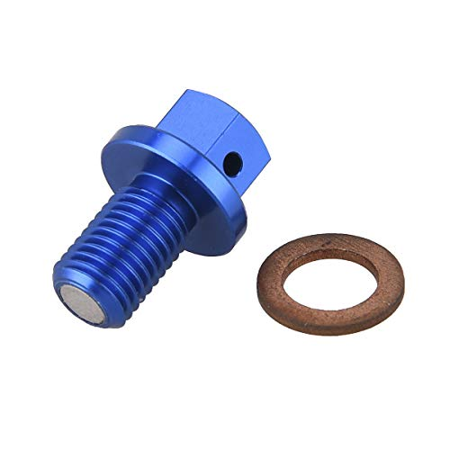 (PRO CAKEN CNC Magnetic Engine Oil Drain Plug Screw Repair Bolt for YZ125 YZ250F 450F WR250F WR450F)