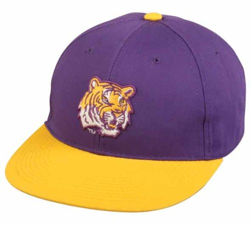 LSU Tigers YOUTH Cap Officially Licensed NCAA Authentic Replica Baseball/Football Hat