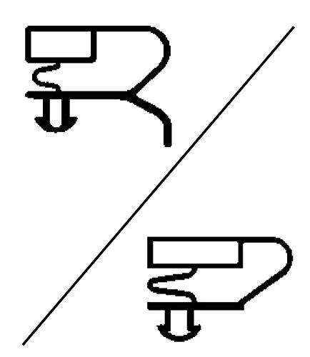 Joint pour réfrigérateur magnétique à clipser Dim. 1551x 651mm
