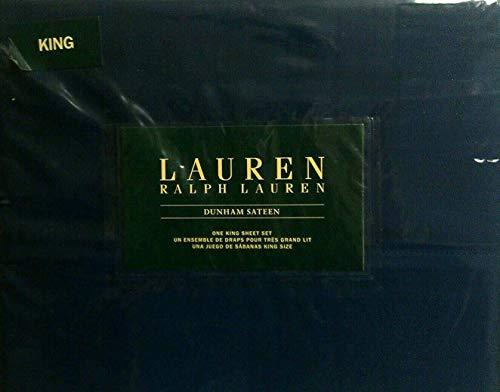 (Lauren King Cadet Blue Dunham Sateen Sheet Set)