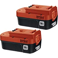 BLACK+DECKER HPB18-OPE2 2-Pack 18-volt NiCd Battery for...