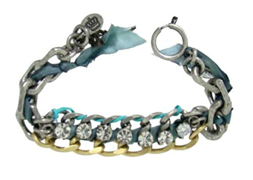 Juicy Couture War of Love Ribbon & Chain Bracelet - Jewelry Couture Fashion Bracelets Juicy