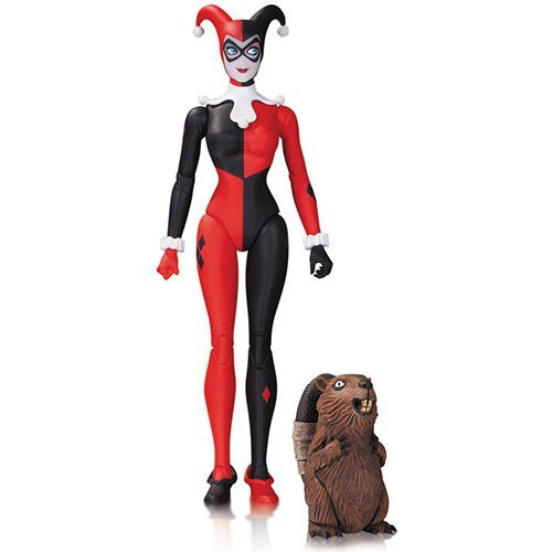 DC Collectibles Designer Series: Amanda Conner Traditional Harley Quinn with Beaver Action Figure