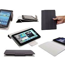 Etui semi-rigide gris pour Acer Iconia Talk S (A1-724) - tablettes tactiles 7 pouces, support intégré et couverture inspiration Smart Cover, par DURAGADGET