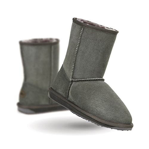 EMU Stinger Lo Flatform Womens Sheepskin Boot Sheepskin Fashion (8 B(M) US, - Lo Boot Chestnut