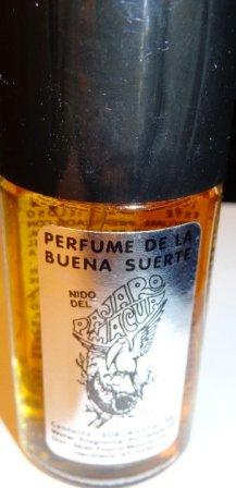 Perfume de La Buena Suerte-Nido de Pajaro Macua- Good Luck Perfume